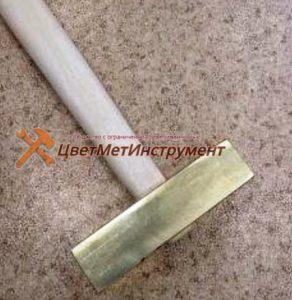 молоток латунный 0,8 кг (1)