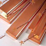 шина медная copper bus bar