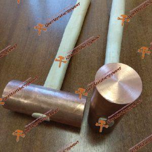 Mednyj molotok iskrobezopasnyj 2,5 kg http://cvetmetinstrument.ru